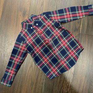 Toddler Boys Janie and Jack Plaid Shirt